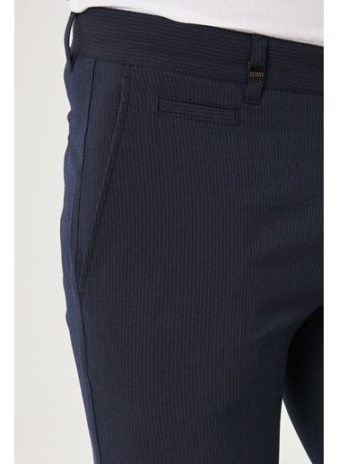 Beymen Business 4B0119210024 Slim Fit Pantolon Gofre Lacivert